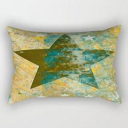 Rustic Star #2 Rectangular Pillow