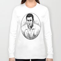 snl Long Sleeve T-shirts featuring DARK COMEDIANS: Adam Sandler by Zombie Rust