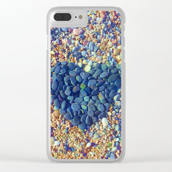 Hard Heart / 19-08-16 Clear iPhone Case
