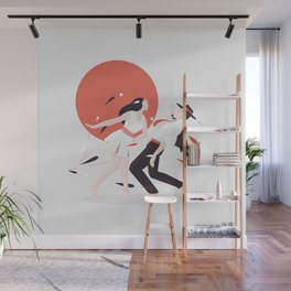Swing dancers Wall Mural