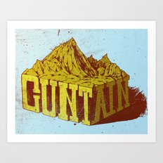 Cuntain Art Print