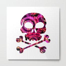 SKULL - P5 Metal Print