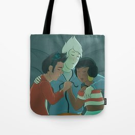 Cuddles are Cool Tote Bag