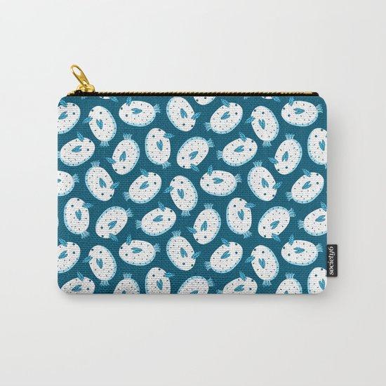 Sea Bunnies_Blue Carry-All Pouch