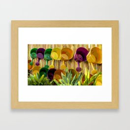 Gardening Helpers Framed Art Print