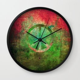 Peace IV Wall Clock