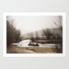 Creek, Revisited Art Print