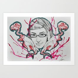 I like birds Art Print