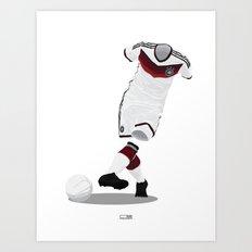 Germany - World Cup 2014 Finalists Art Print