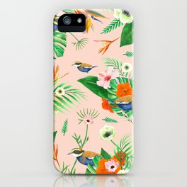 Jewel of The Forest - Pink iPhone Case