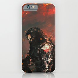 Blood in the Breeze iPhone Case