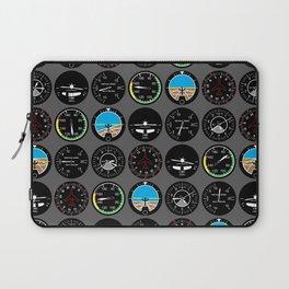 Flight Instruments Laptop Sleeve