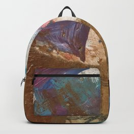 Colours of the wind, and gold. Backpack