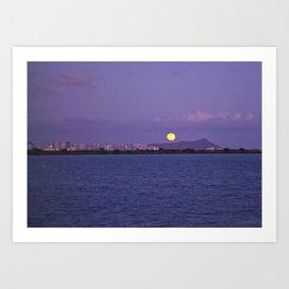 """ Full moon"" Art Print"