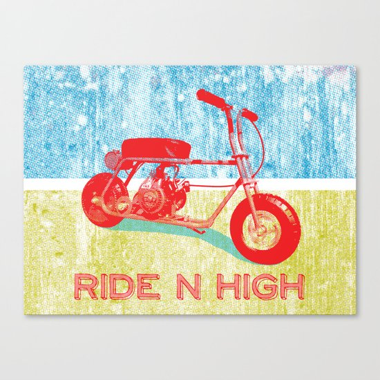 Ride N' High Canvas Print