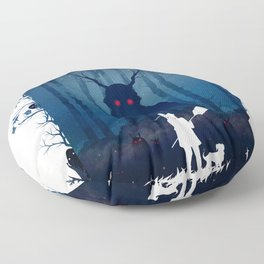 Brave Warriors Floor Pillow