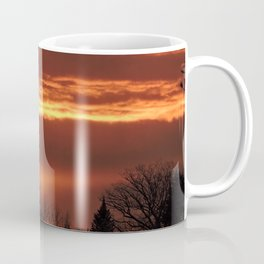 The Clouds are on Fire Coffee Mug