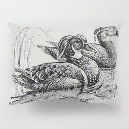 Wood Duck Pair Pillow Sham