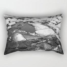 Ice Blocks Rectangular Pillow
