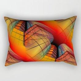 3D - abstraction -63- Rectangular Pillow