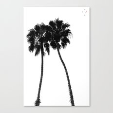 Palm Trees Two Canvas Print