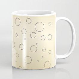 Design dots, gold ethno Coffee Mug