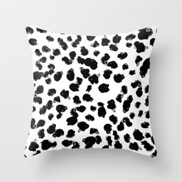 WILD SPOT Throw Pillow