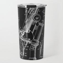 Microscope 1908 Patent Travel Mug