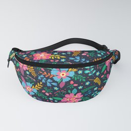 Beautiful colorful flowers Fanny Pack