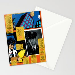 Bird of Steel Comix – 7 of 8 (Society 6 POP-ART COLLECTION SERIES) Stationery Cards