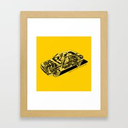 Lancia Delta Integrale Framed Art Print