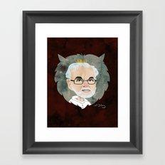 Maurice Sendak Tribute Framed Art Print