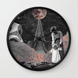 Way to Earth Wall Clock