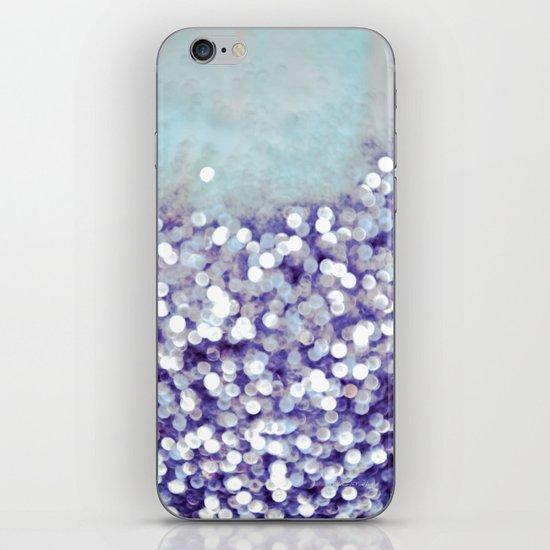 sea of bling - indigo iPhone & iPod Skin
