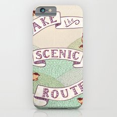 Take the Scenic Route print Slim Case iPhone 6s