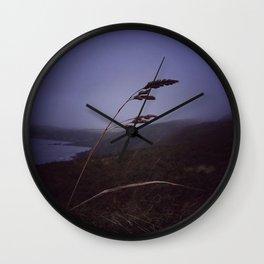 Dark evening sky Wall Clock