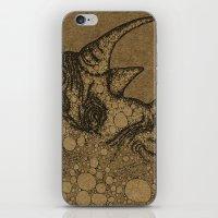 rhino iPhone & iPod Skins featuring Rhino by Julia Kisselmann