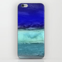 Midnight Waves Seascape iPhone Skin