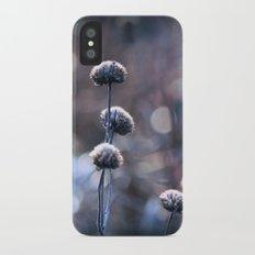 Copper Field Evening Frost iPhone X Slim Case