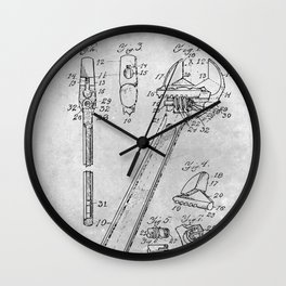 Wrench Wall Clock