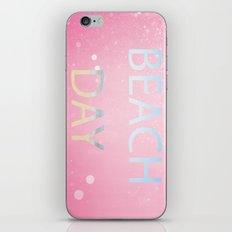 Pink Beach Day  iPhone & iPod Skin