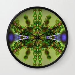 Green Machine 5 Wall Clock