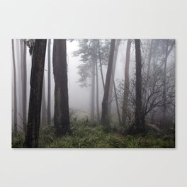 Encroaching Canvas Print
