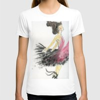 dance T-shirts featuring Dance by Natalie Woo artwork