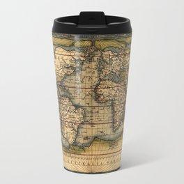 World Map 1570 Travel Mug