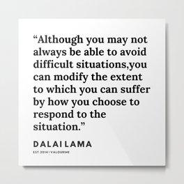 97   | Dalai Lama Quote | 191231 Metal Print