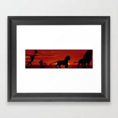 Simba's Pride Framed Art Print