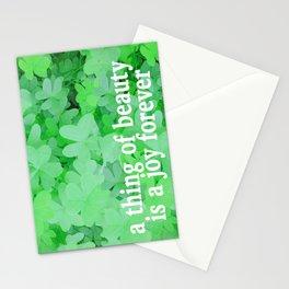 GREENER Stationery Cards