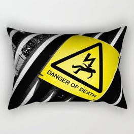 Danger of Death #2 | New Slant, Old Message Rectangular Pillow