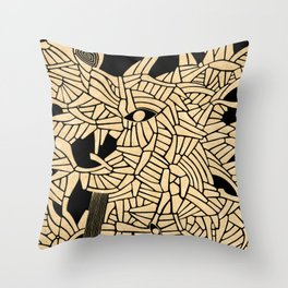 - summer : blinded by the sun - Throw Pillow